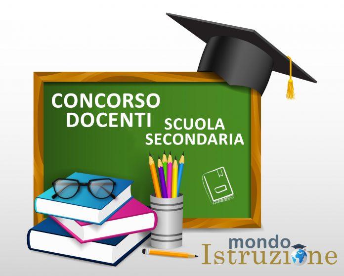 CONCORSO DOCENTI SCUOLA SECONDARIA