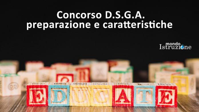 CONCORSO DSGA: LE PROVE SCRITTE