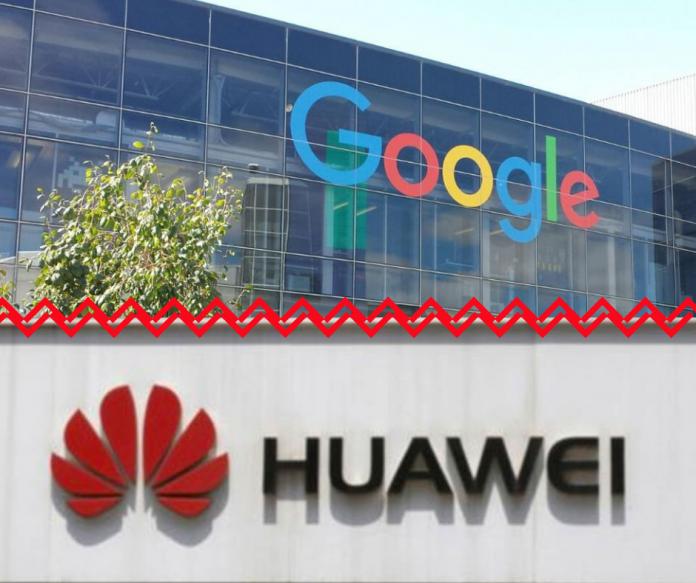 Google vs Hauwei